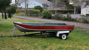 14' tinny with trailer