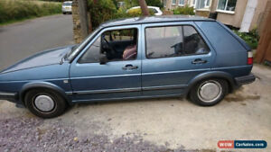 VW Golf MK2, gas or Diesel, running or not, complete or parted