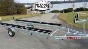 NEW 2017 Light-Duty Pontoon Trailer 2720lbs CAPACITY +18'-22'