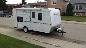 2011 - 16 ft Sportsmen KZ camping trailer Moose Jaw Regina Area image 1
