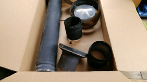 Chimney pipes and cap