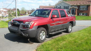 2003 Chev Avalanche Z71 Limited Edition GFX