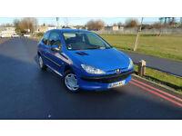 2004 54 Peugeot 206 1.1 8v ( a/c ) +++LOW MILEAGE+++
