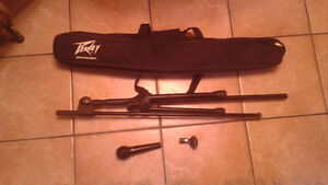 Peavy Mic, stand and carrying case.