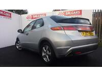 2007 07 HONDA CIVIC 1.8i-VTEC ES 5 DOOR.VERY NICE EXAMPLE WITH F/S/H.FULL MOT,