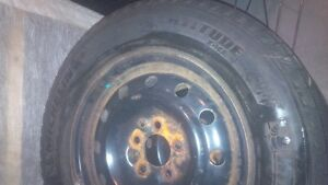 4 WINTER TIRES ON MAGS , MICHELIN X-ICE, LATITUDE 215/170/16 West Island Greater Montréal image 2