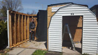 Do you need your old shed removed?
