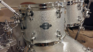 Sonor Beech Limited Edition Drums (Silver Sparkle)