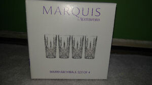 Marquis crystal glasses