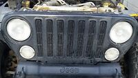 2003 Jeep TJ wrangler front grill
