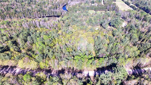 VACANT LOT WITH 300 FEET ON PAPINEAU CREEK, NEAR BANCROFT, ON