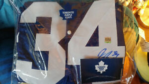 Autographed Toronto Maple Leaf Jerseys
