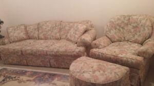 Custome made sofa and Chair