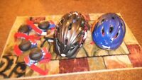 Yourth / lady / kids helmets and kids protectors