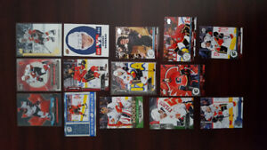 Calgary Flames Hockey Card Lot