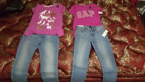 Girls gap clothes size 7