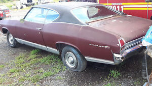 1969 CHEVROLET CHEVELLE PROJECT CAR