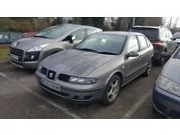seat leon turbo diesel sxtdi 1900 cc 5 door110bhp 6 speed manual 03 reg mot tax alloy wheels