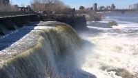 Rideau falls Ottawa