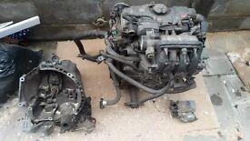 Citroen C3 engine 1.4 petrol 105K & Gearbox