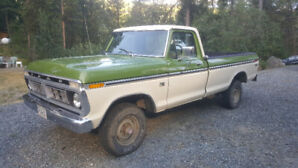 1976 Ford F150 Ranger 4x4 Very good condition