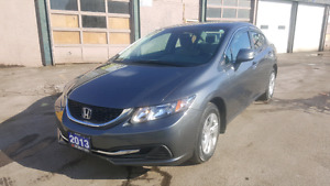 2013 HONDA CIVIC LX SEDAN LOADED WARRANTY FINANCE 44KM