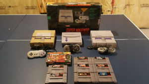 Super Nintendo [SNES] Systems + Games