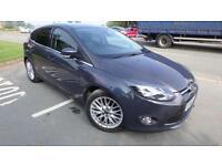 2012 Ford Focus 1.6TDCi Zetec grey only 45851 miles £20 tax 76.3 mpg shrewsbury