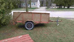 4x8 trailer.
