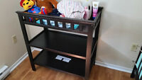 Black Changing table