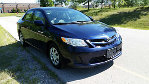2011 Toyota Corolla Sedan Automatic $8795+HST E-tested Certified