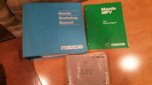 Mazda MPV2001 Workshop Manual and Wiring Diagram and User Manual