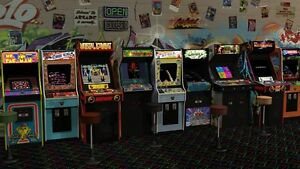 Wanted Stand up arcade multi game