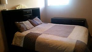 Ashley Furniture Bed Set and Dresser
