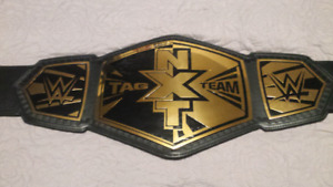 Wwe's NXT tag team title belt ( FIRM PRICE )