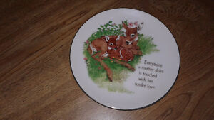 A Mother's Love collector plate