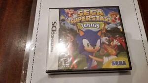 NINTENDO DS SEGA SUPERSTAR TENNIS- NEW IN THE PACKAGING.