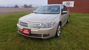 FULLY LOADED 2008 Lincoln MKZ AWD $8995 + HST PRICED TO SELL London Ontario image 1