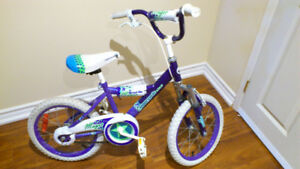 "Girls Magic Supercycle bike 16"" wheel"