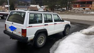 1991 XJ Jeep Cherokee