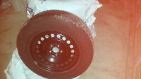 235 65 17 snow tires on steel rims ford edge