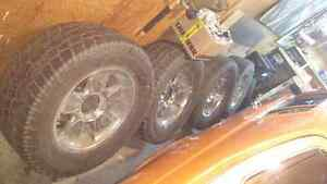 """Chevy GMC 20"""" x 9"""" alloy wheels, fit up to 2010 1500HD, 2500HD,"""