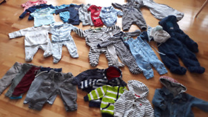 Baby boy clothes 3 - 6 months (lot A)