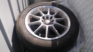 All seaon tires with mags 16inch