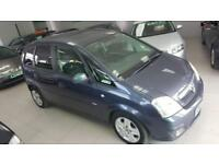 2009 VAUXHALL MERIVA DESIGN CDTI 16V Blue Manual Diesel