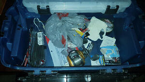 2 Tackle boxes full of gear and 2 Baitcaster reels w/ ugly stick Windsor Region Ontario image 3
