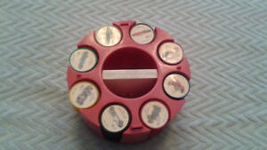 1961 JELLO CAR COINS SET WITH HOLDER