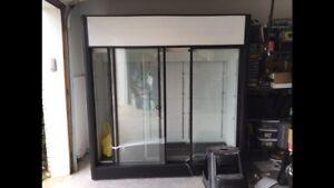 Three (3) Glass Door Cooler