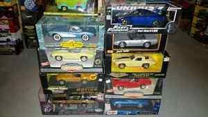 1:18 Diecast Jada Fast and Furious GT-R & ERTL Corvette