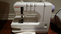Janome Coverpro 1000CP surger sewing machine
